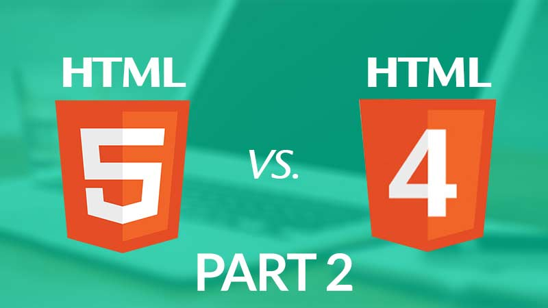 HTML5 Enhancements [Part-2]: Why HTML5 is far better than HTML4.0?