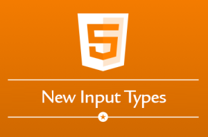 input types in html5